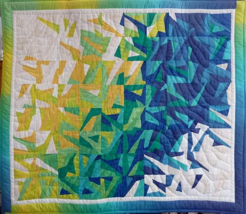 It S Crazy Time Teil 4 Der Schnelle Quilt Bernina Blog Quilt Verruckte Quilts Steppmuster
