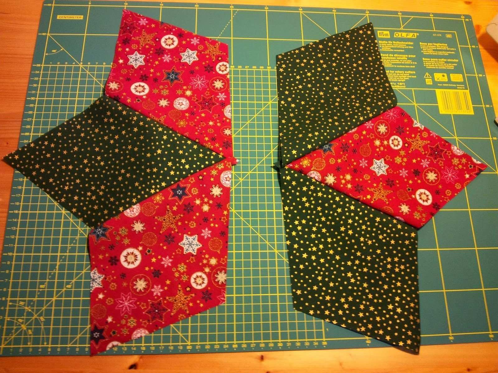 Placemat Star Patchwork Instructions Photo Instructions Tutorial Christmas Christmas Famous Last Wo In 2020 Patchwork Tutorial Christmas Placemats Christmas Quilts