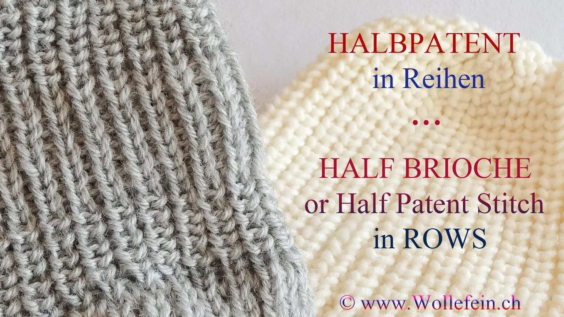 Halbpatent In Reihen Half Patent Or Half Brioche Stitch In Rows Crochet Cable Baby Blanket Crochet Pattern Crochet Throw Pattern