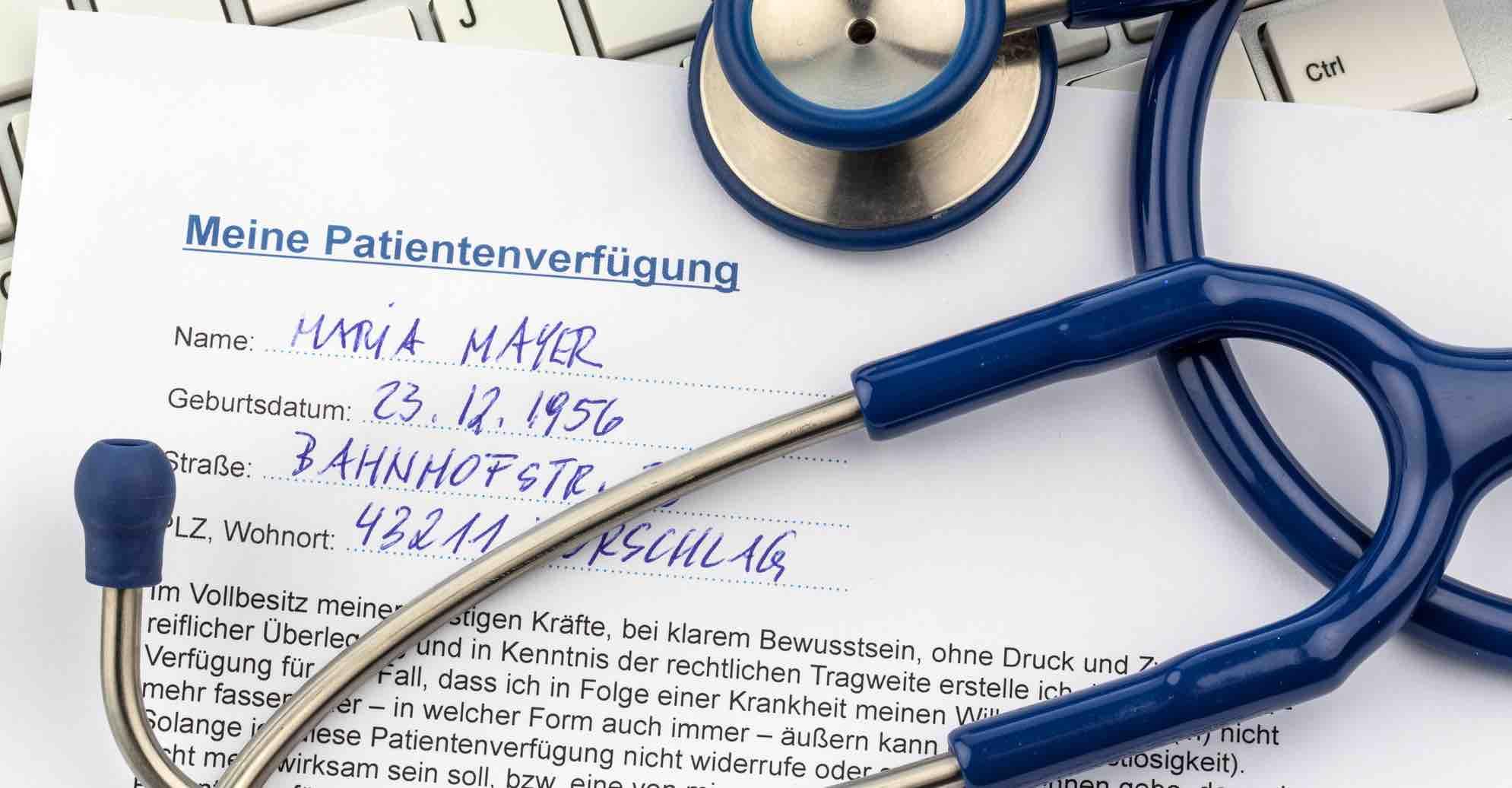 Patientenverfugung In Osterreich Das Sollten Sie Wissen Anwaltfinden At