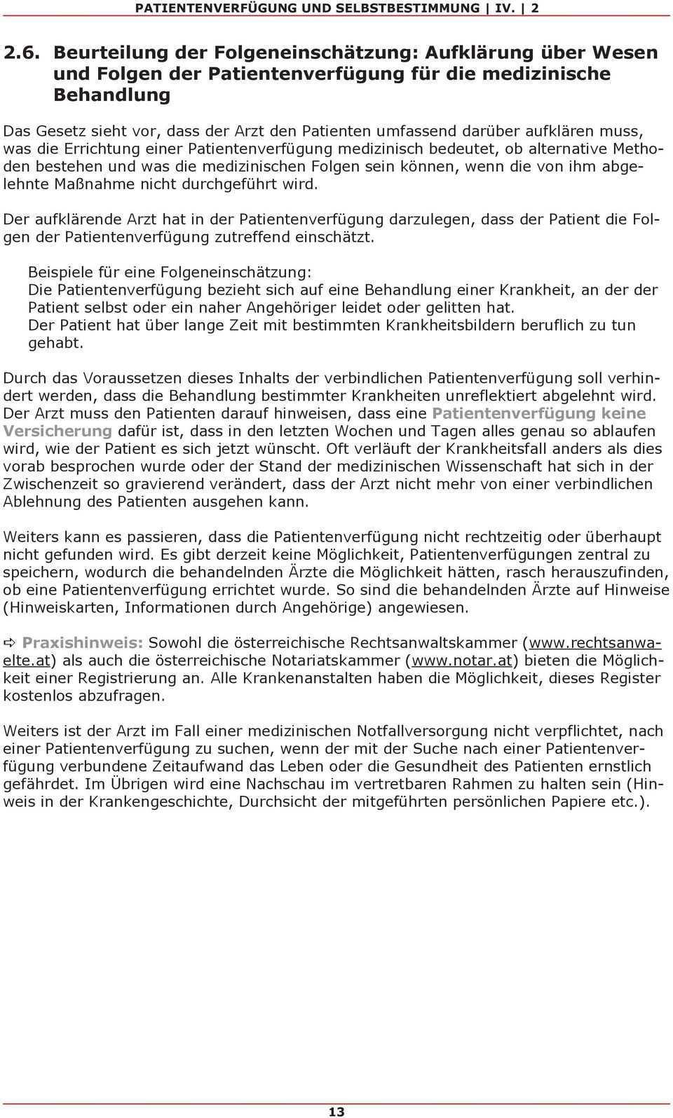 Patientenverfugung Und Selbstbestimmung Leitfaden Fur Arztinnen Und Arzte Zur Erstellung Und Anwendung Einer Patientenverfugung Pdf Free Download