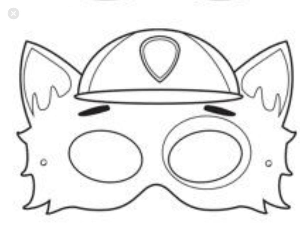 Pin Von Hajni Auf Gyerekcuccok Paw Patrol Abzeichen Masken Zum Ausdrucken Paw Patrol