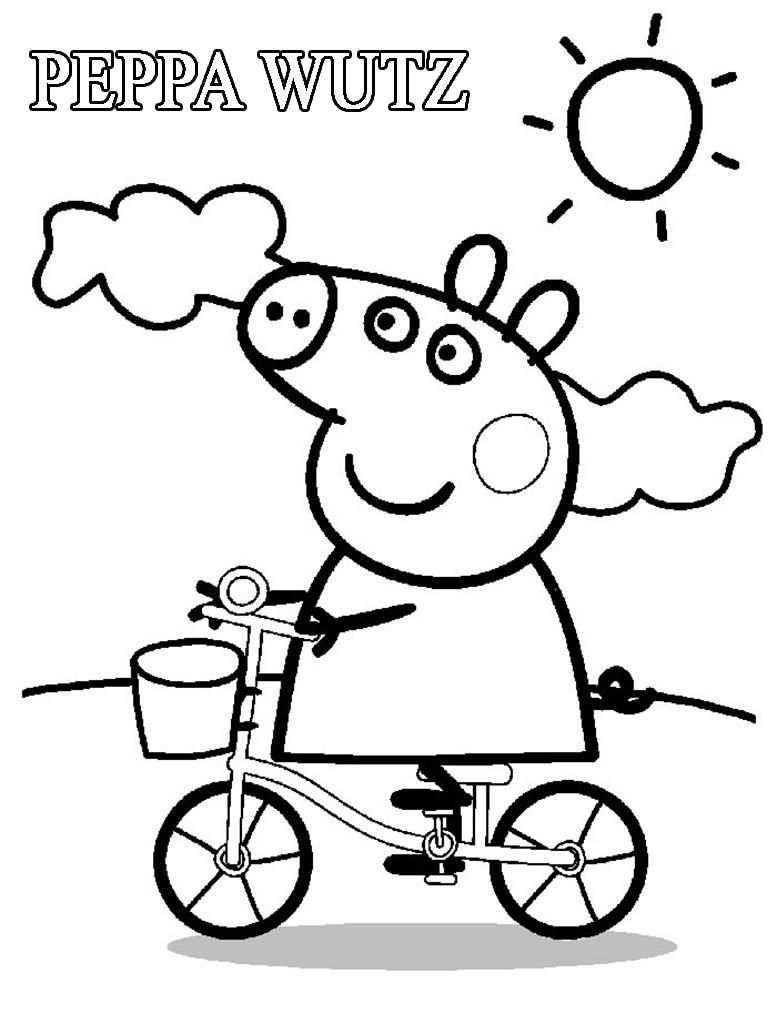 Malvorlagen Peppa Wutz Malvorlagen Ausmalbilder Peppa Pig Zum Ausdrucken