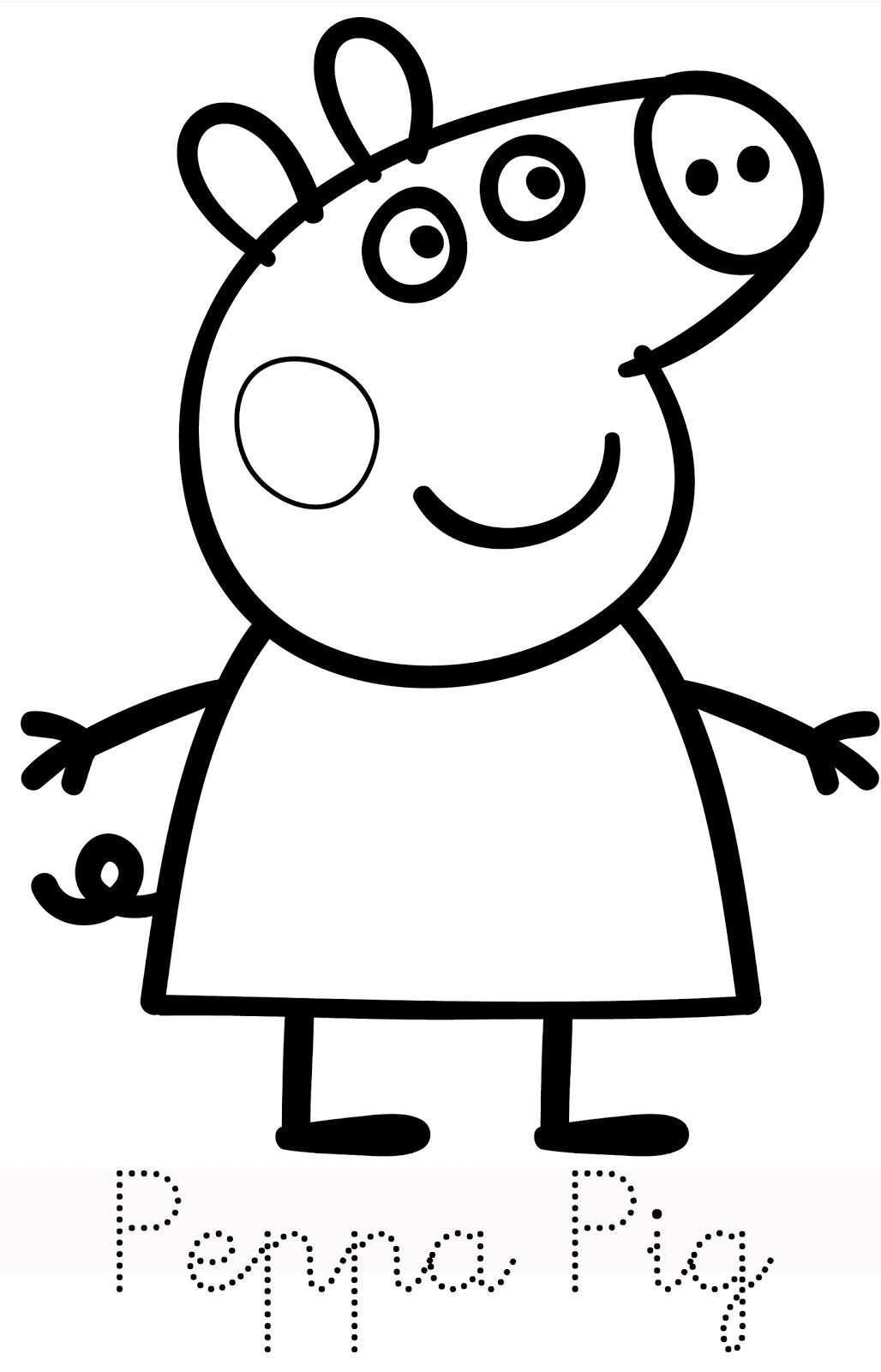 Peppa Pig Coloring Pages Best Coloring Pages For Kids Peppa Pig Colouring Peppa Pig Coloring Pages Peppa Pig Birthday Party