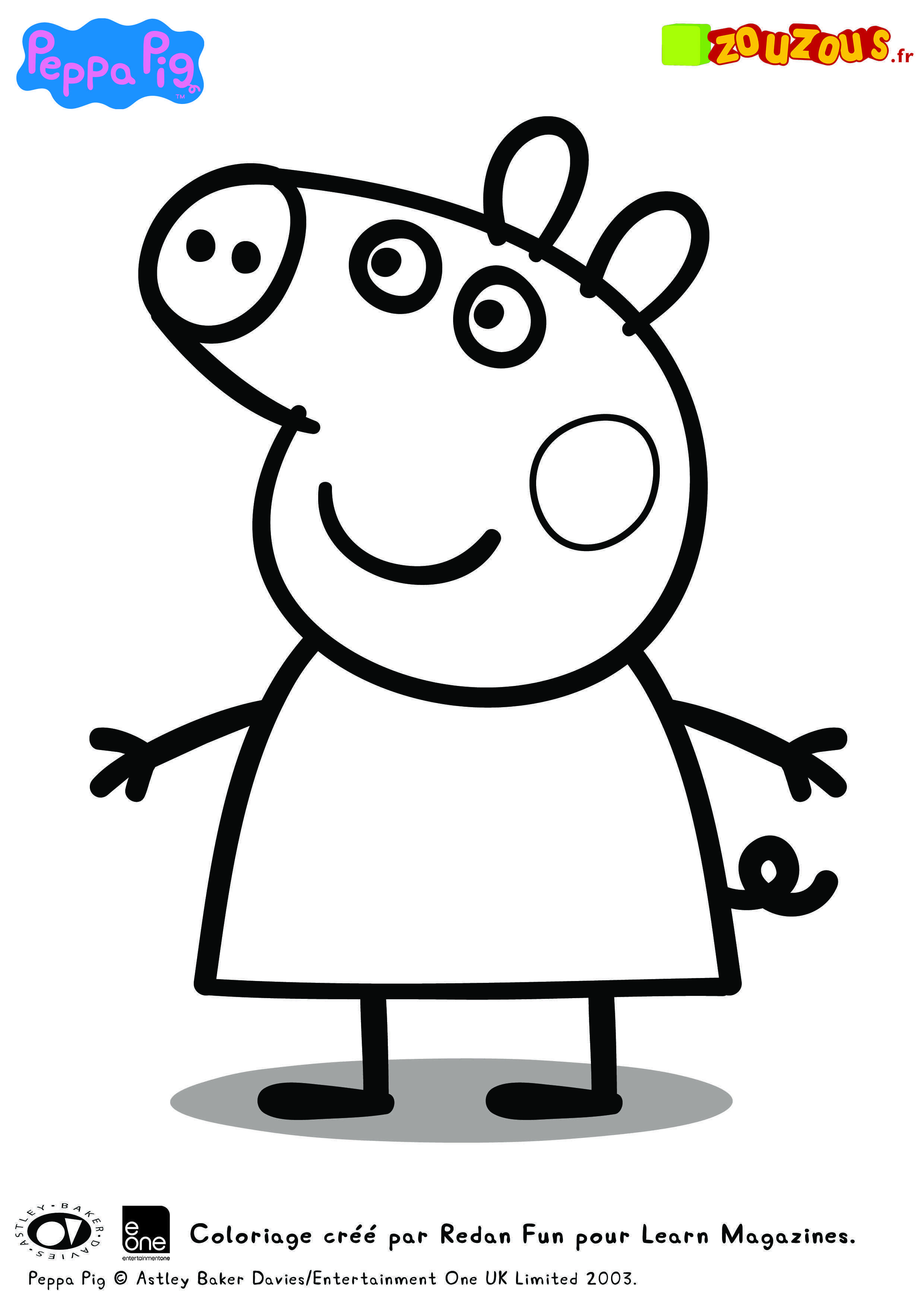 Peppa Coloriage Geburtstag Malvorlagen Ausmalbilder Ausmalbilder Kinder