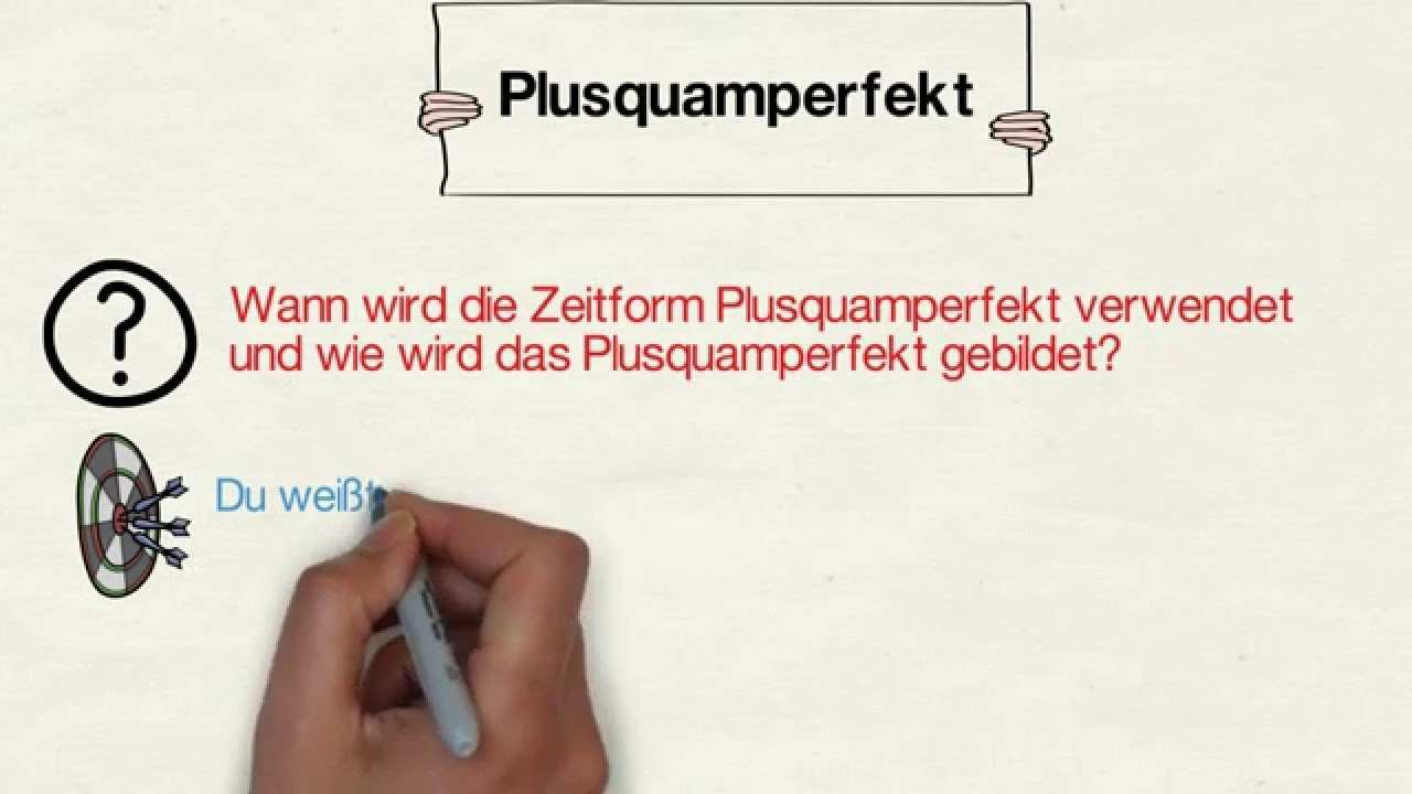 Das Plusquamperfekt Youtube