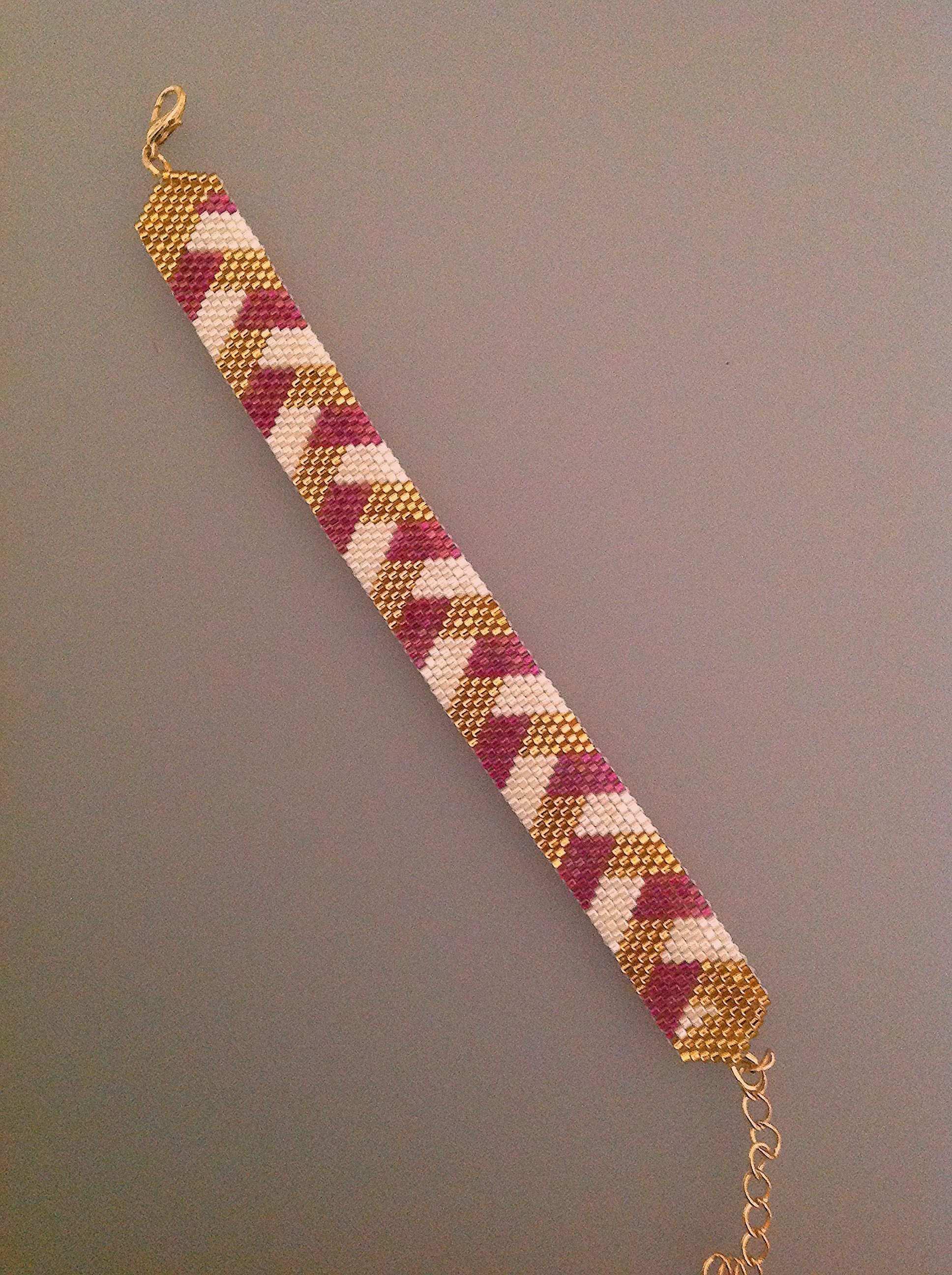 Armband Weben Muster Armband Weben Gewebte Armbander Armband Muster