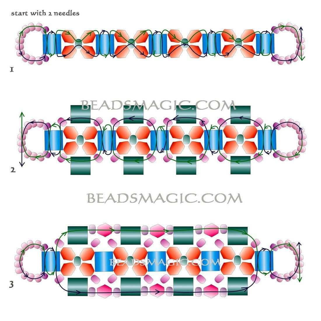Kostenlose Muster Fur Armband Fabiana Kostenlose Muster Fur Perlen Armband Fabiana Mit Tila Bead In 2020 Armband Perlen Perlenarmband Muster Perlenarmbander Anleitung
