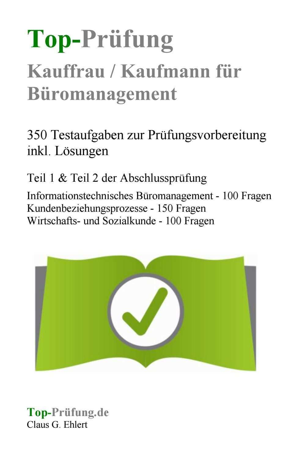 Http Www Top Pruefung De Bueromanagement Html Kauffrau Kaufmann Fur Buromanagement Kauffrau Prufungsvorbereitung Burokauffrau