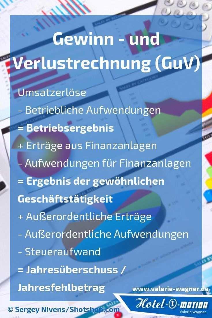 Gewinn Und Verlustrechnung Guv Hotel O Motion Buchhaltung Lernen Finanzen Buchfuhrung Lernen
