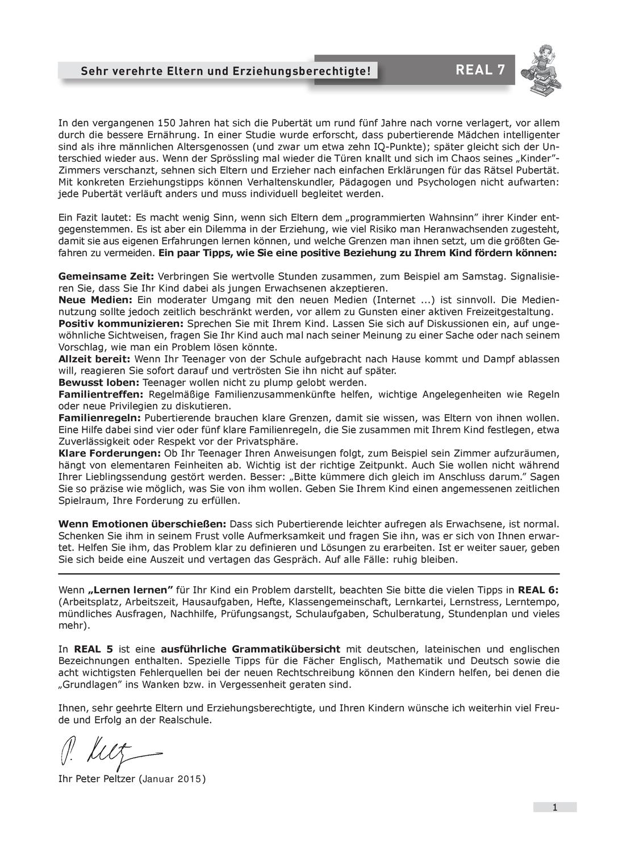 Real 7 Schulaufgaben Stegreifaufgaben Fur Die 7 Klasse Der Realschule Unterrichtsmaterial In Den Fachern Biologie Deutsch Englisch Erdkunde Franzos Realschule Schulaufgaben Erdkunde