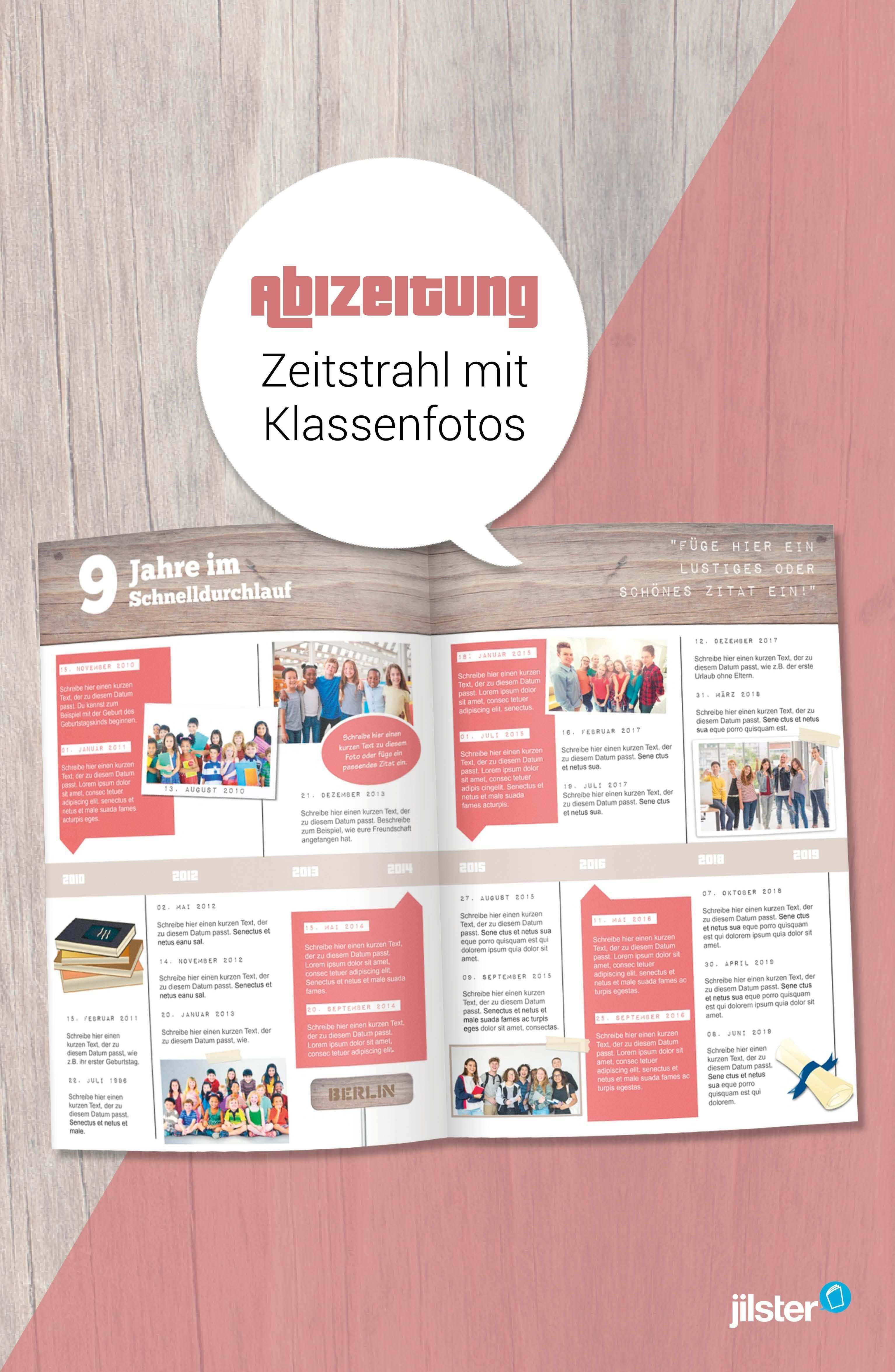 Abizeitung Zeitstrahl Mit Vielen Fotos Gestalten Jilster Blog Abizeitung Zeitung Zeitstrahl