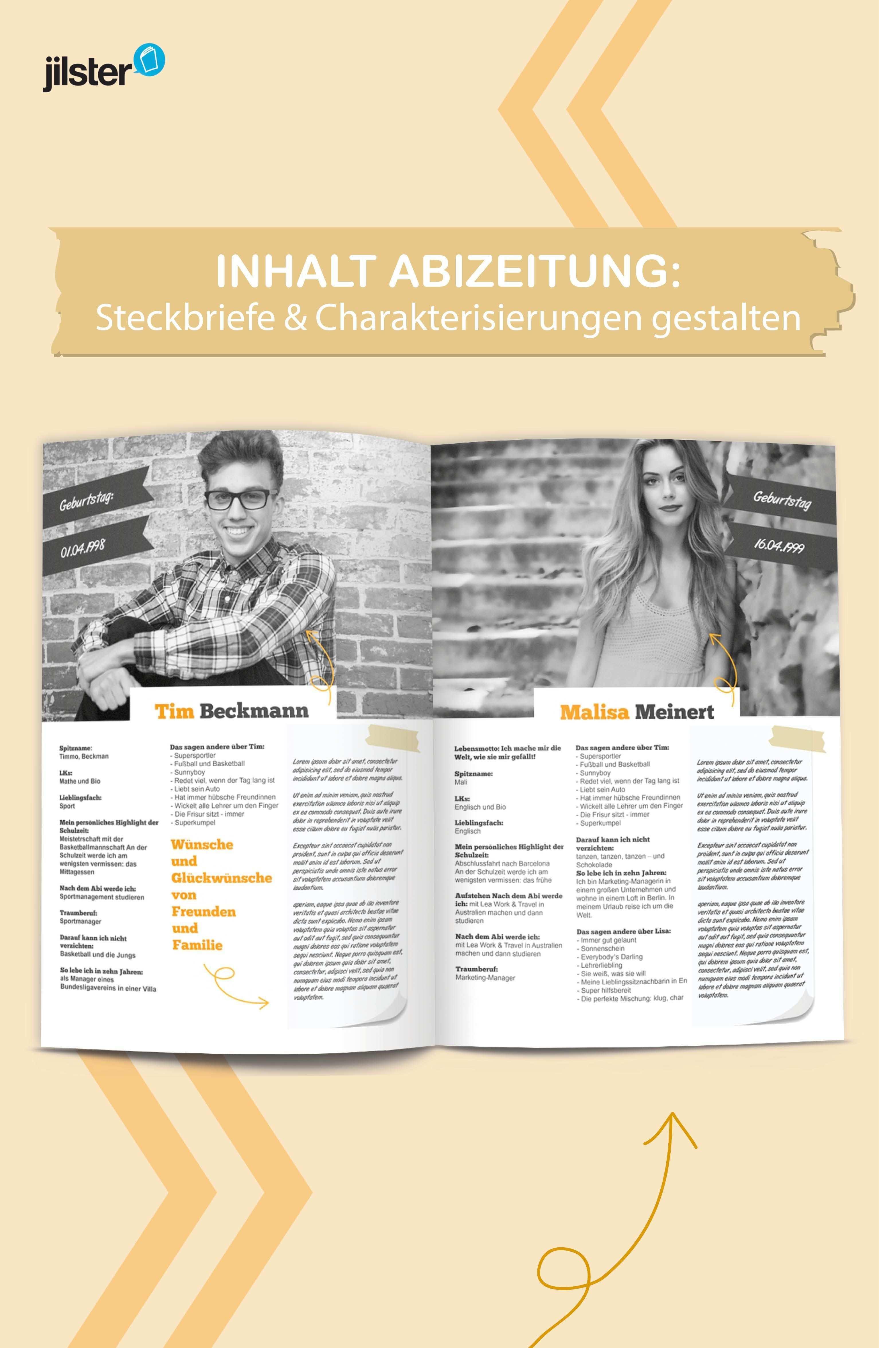 Abizeitung Steckbriefe Gestalten Jilster Blog Abizeitung Steckbrief Zeitung