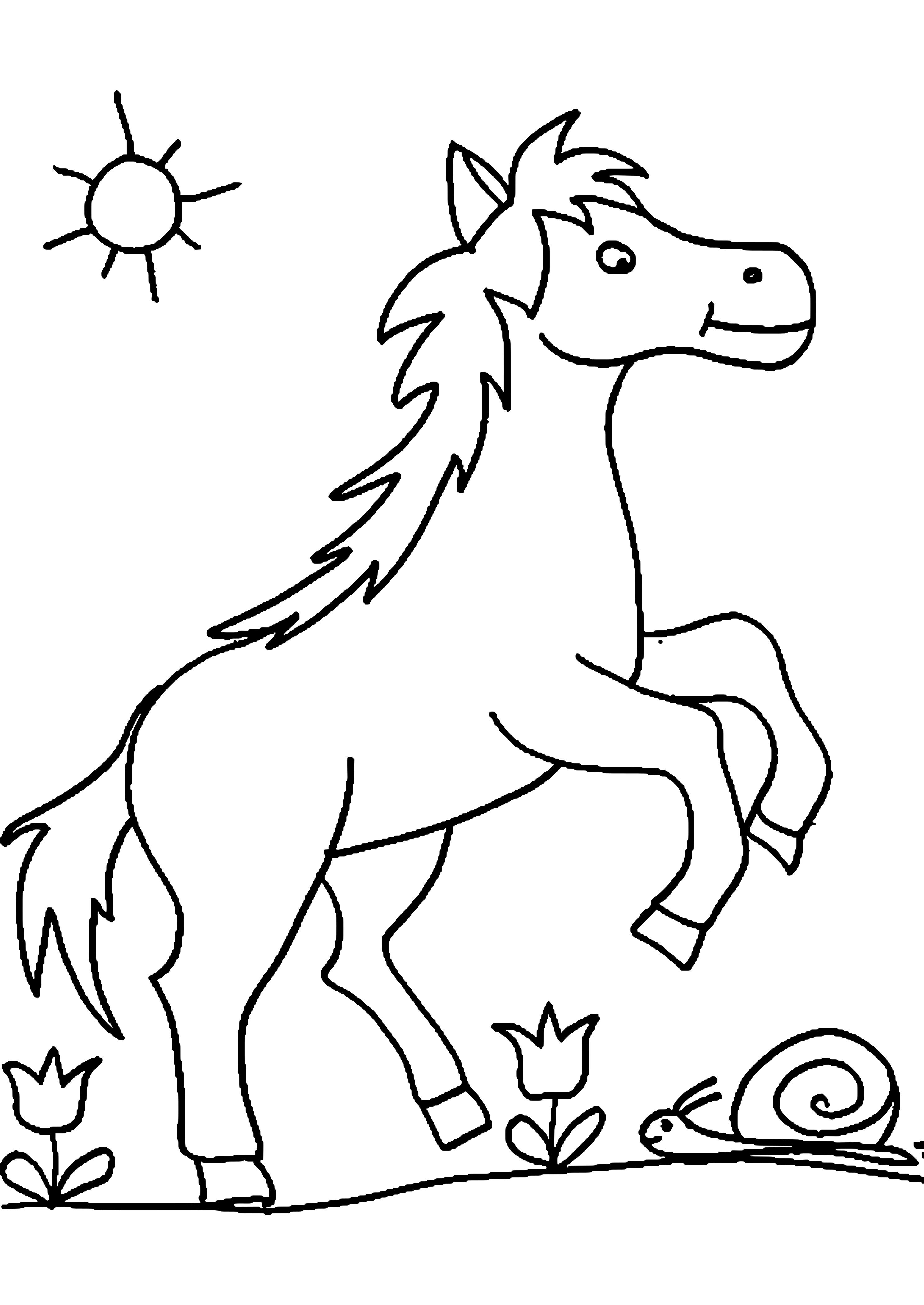 Ausmalbilder Kostenlos Ausdrucken Pferde Malvorlagen Pferde Ausmalbilder Pferde Ausmalbilder