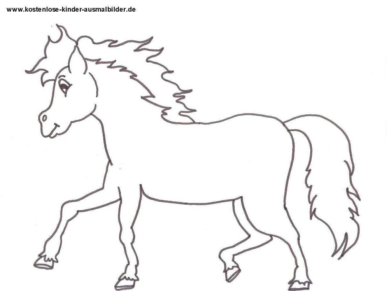 Pferde Ausmalbilder Kostenlos 07 Ausmalbilder Pferde Ausmalen Ausmalbilder