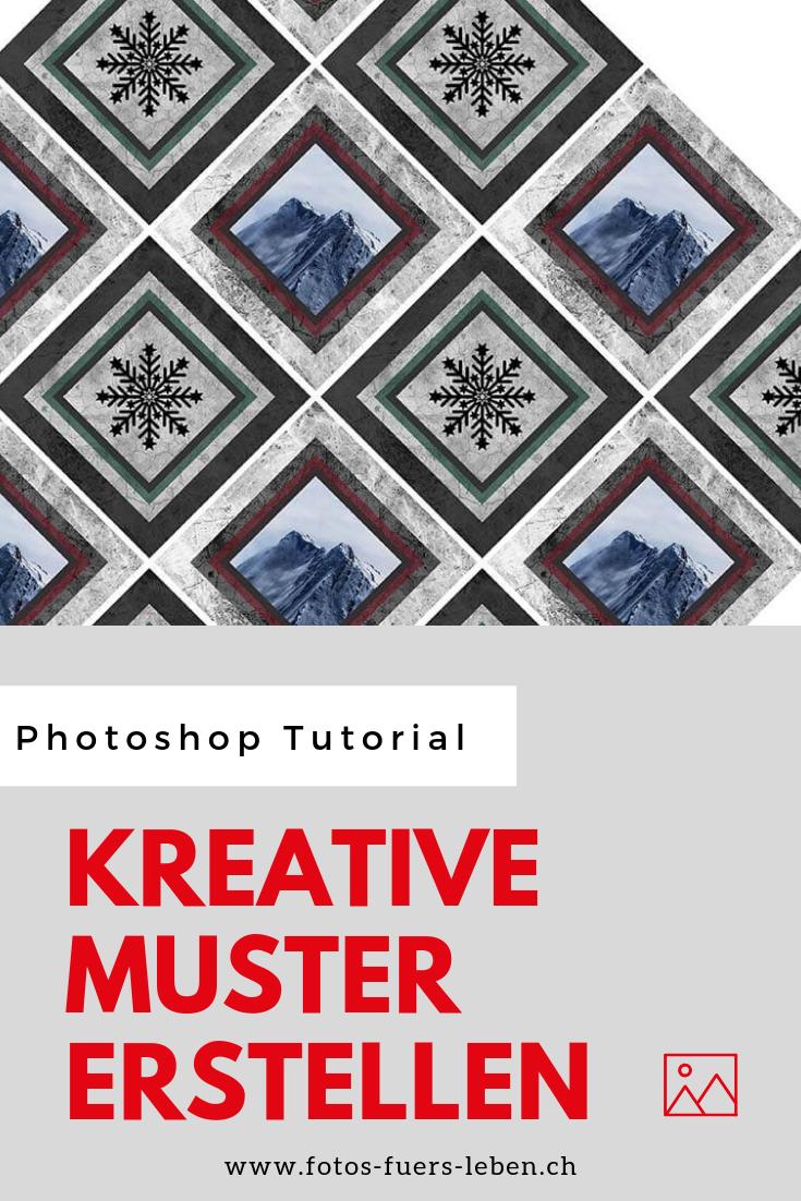 Photoshop Eindrucksvolle Muster Erstellen Photoshop Photoshop Tutorial Fotobearbeitungsprogramm