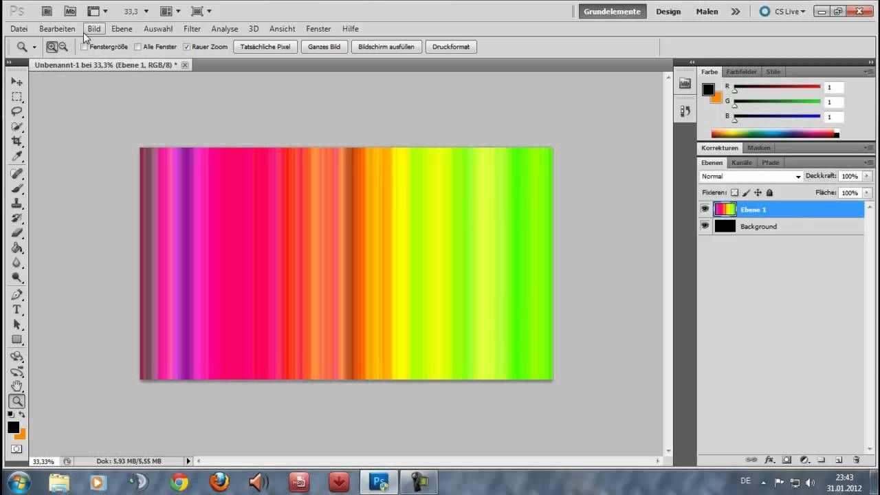 Wallpaper Erstellen Photoshop