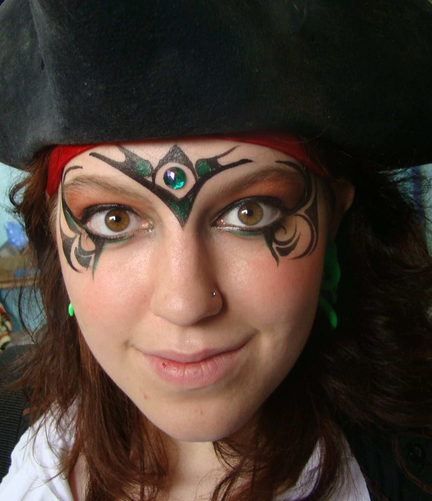 Pirate Girl Pirat Schminken Pirat Schminken Kinder Piratenkostum Diy