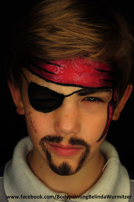 Pirat Artist Belinda Wurmitzer Pirat Schminken Kinder Pirat Schminken Kinder Schminken