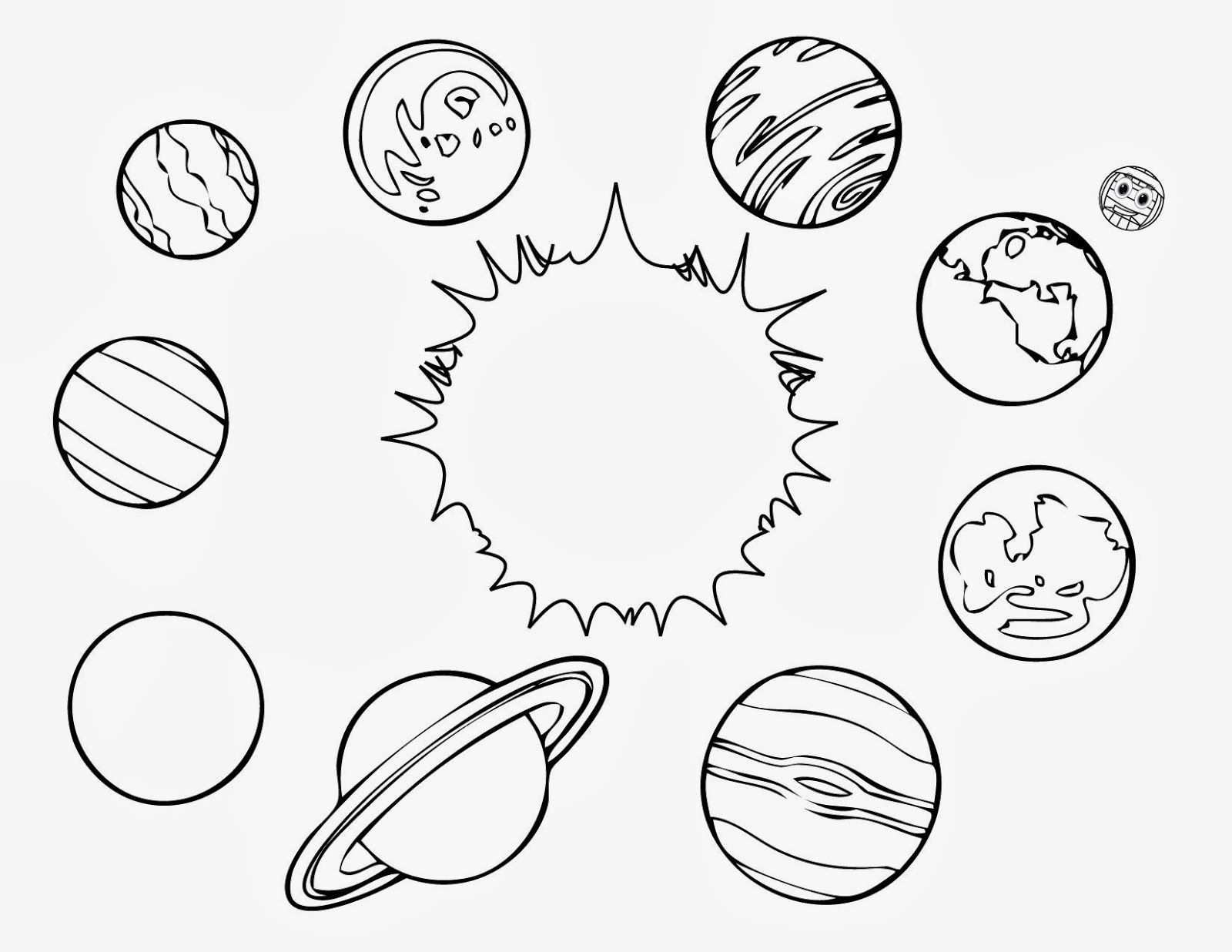 Planets Coloring Pages For Kids Printable Rapunzel Coloring Pages Solar System Coloring Pages Space Coloring Pages Planet Coloring Pages