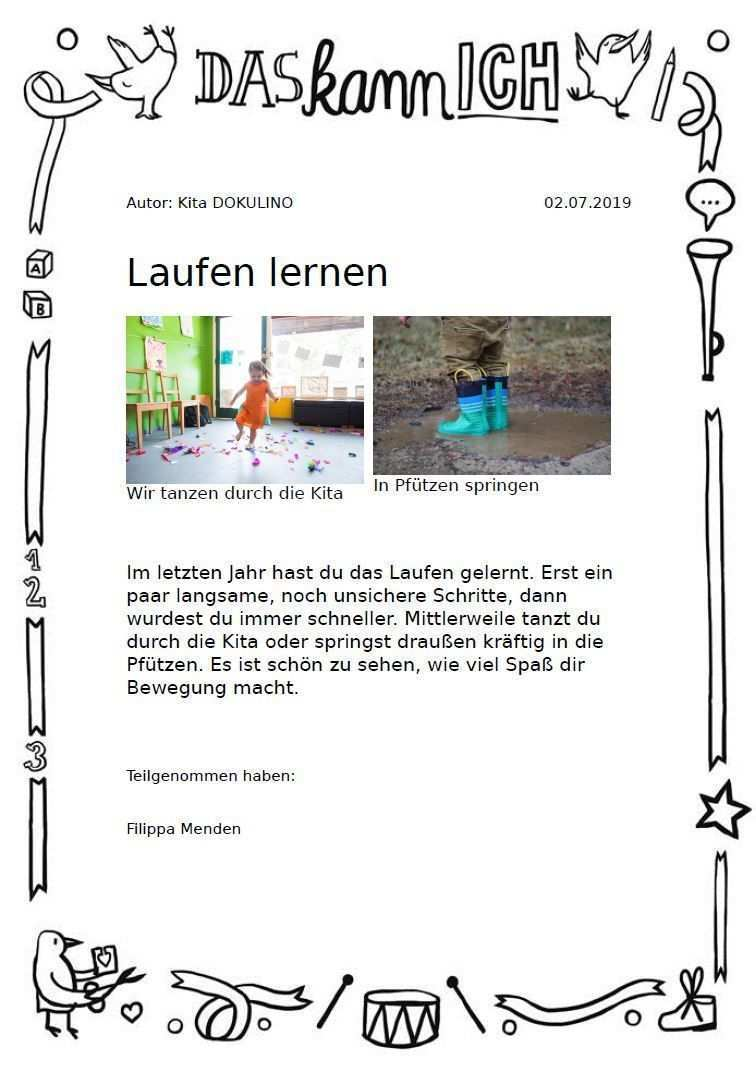 Portfolio In Kinderkrippe Kindergarten Kita Und Hort Kitalino In 2020 Kinder Krippe Kinderkrippe Portfolio Kindergarten