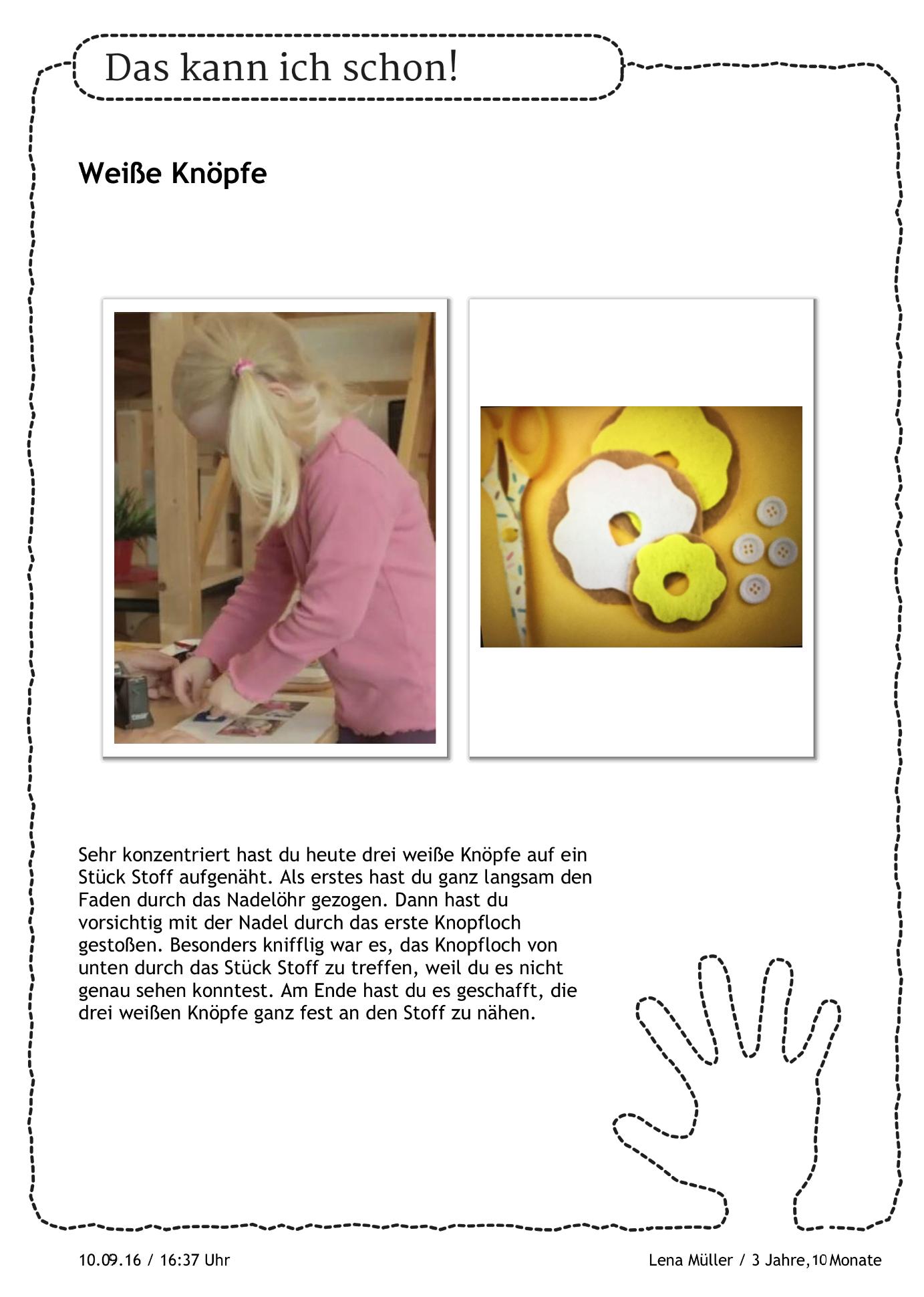 Portfolioeintrag Portfolio Kindergarten Portfolioarbeit Kindergarten Basteln