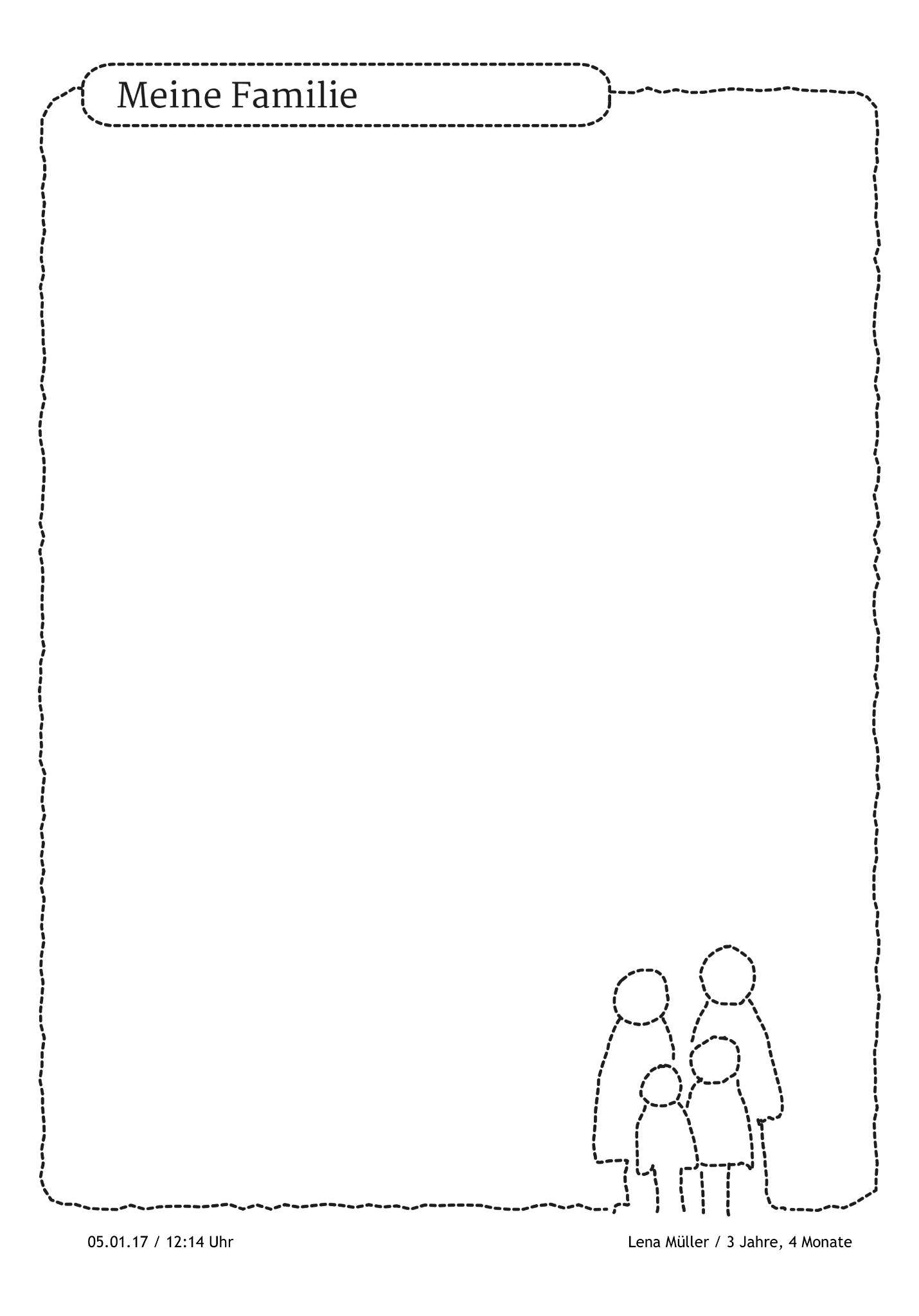 Portfoliovorlage Fur Geschichten Rund Um Die Familie Https Stepfolio De Familie Family Dassindwir Port Portfolio Kindergarten Portfolio Ideen Portfolio