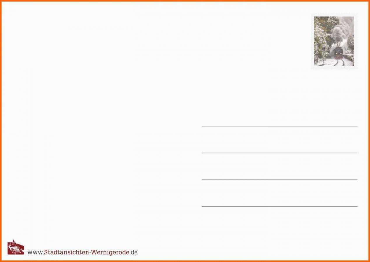 Postkarte Ruckseite Vorlage Postkarten Vorlagen Poster