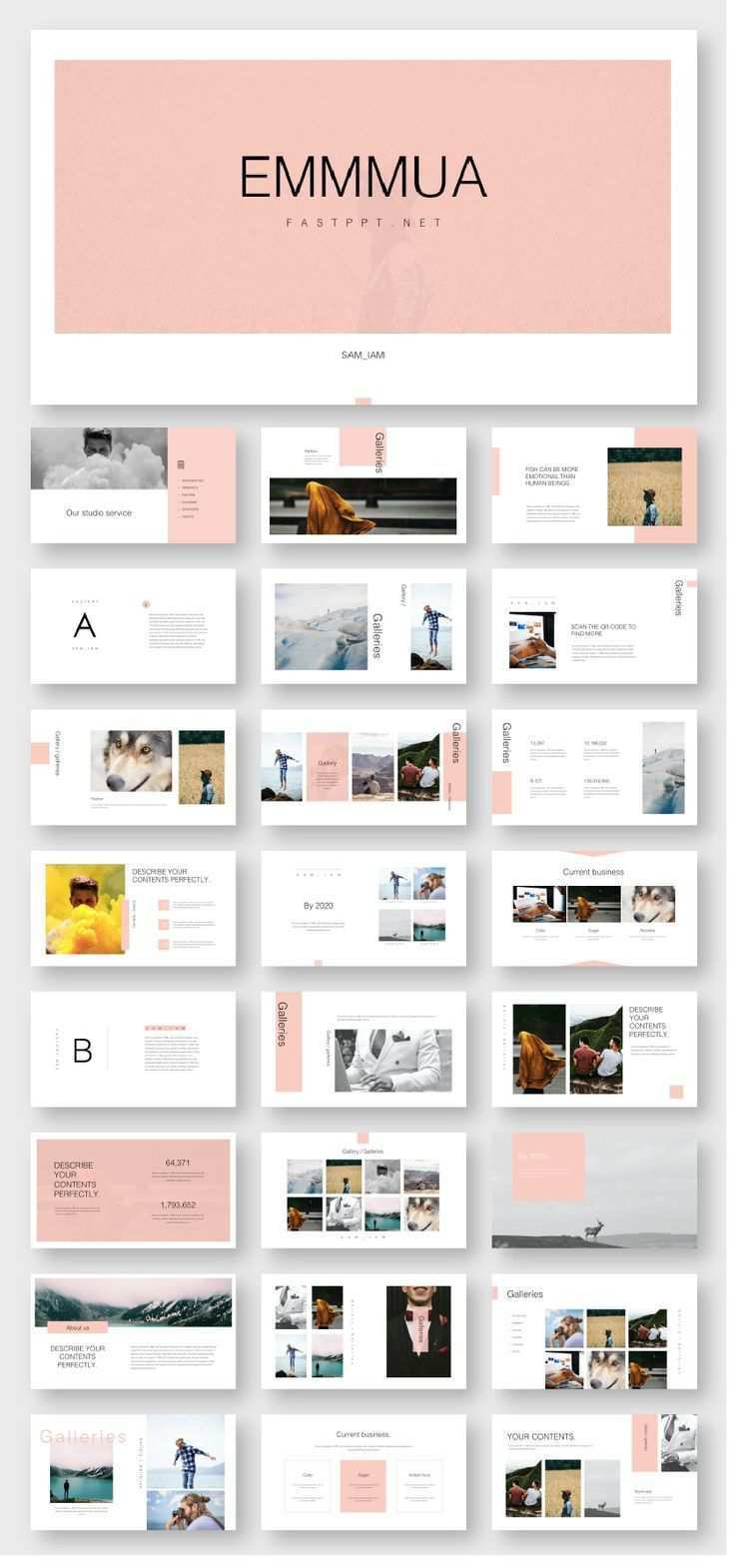 Creative Slides Presentation Template Original And High Quality Powerpoint Templates Presentation Slides Templates Presentation Design Layout Portfolio Design Layout