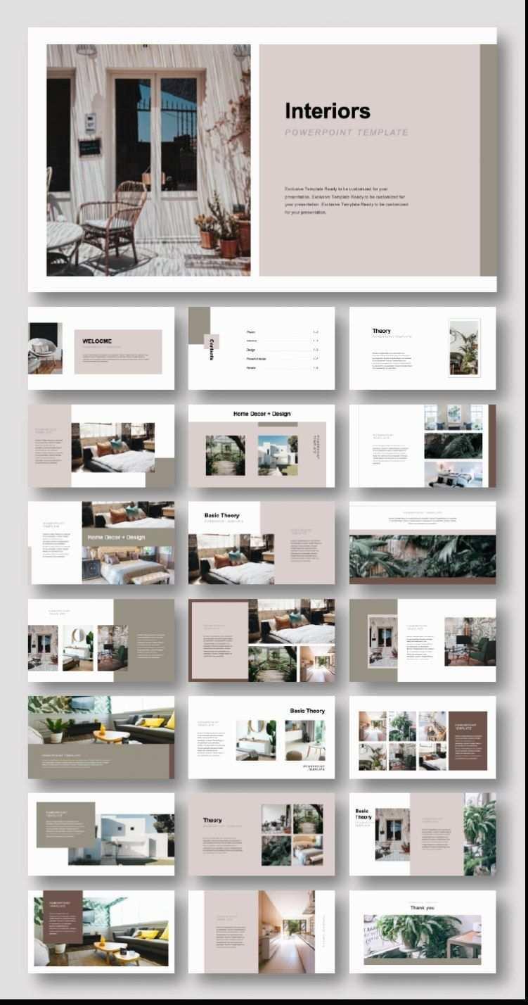 Kreatives Interieur Design Vorlage Original Und Qualitativ Hochwertige Powerpoint Vor Portfolio Design Layouts Layout Architecture Architektur Portfolio Layout
