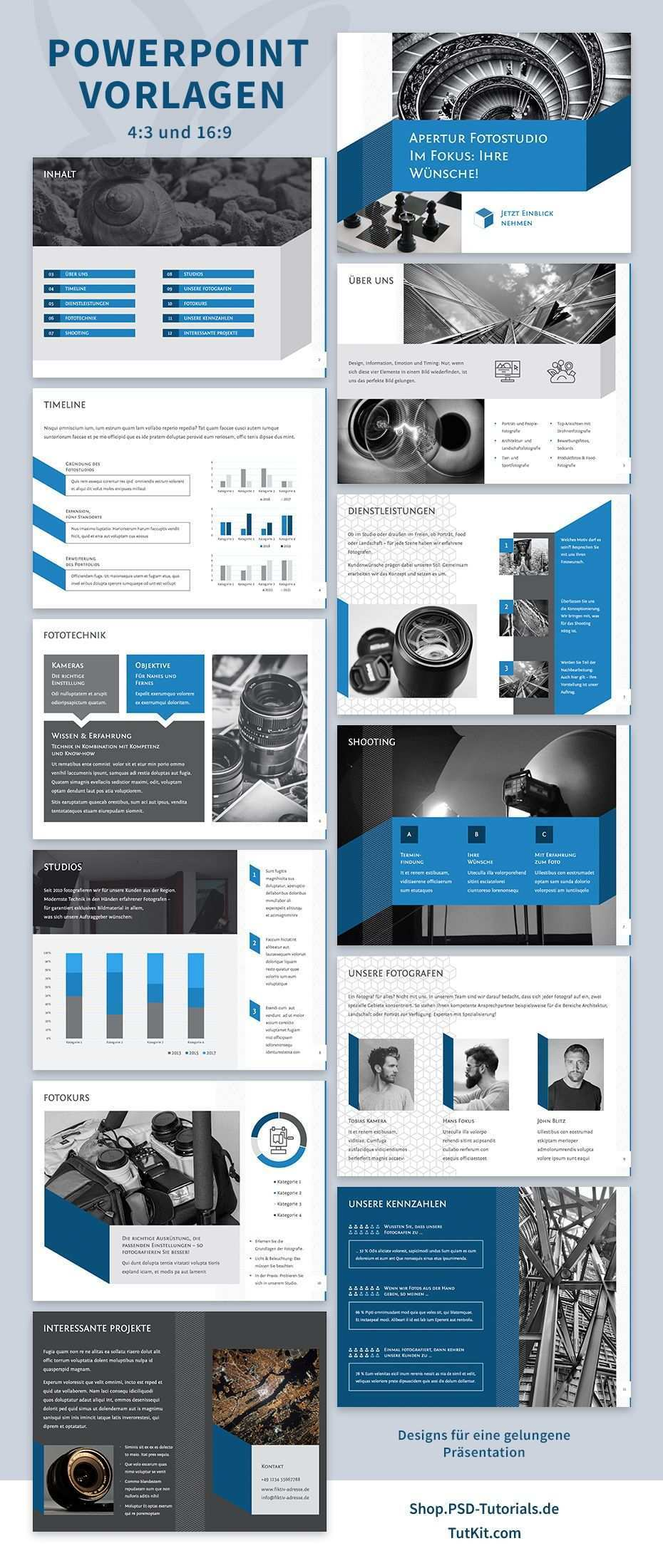 Prasentationsvorlagen Fur Powerpoint Layouts Fur Designstarke Folien Power Point Vorlagen Powerpoint Folien