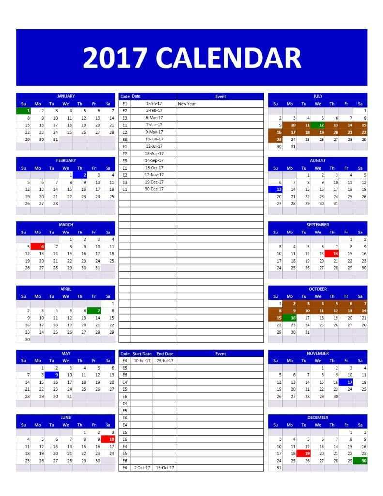 2019 Yearly Calendar Template Exceltemplate Net In 2020 Excel Calendar Template Yearly Calendar Template Calendar Template