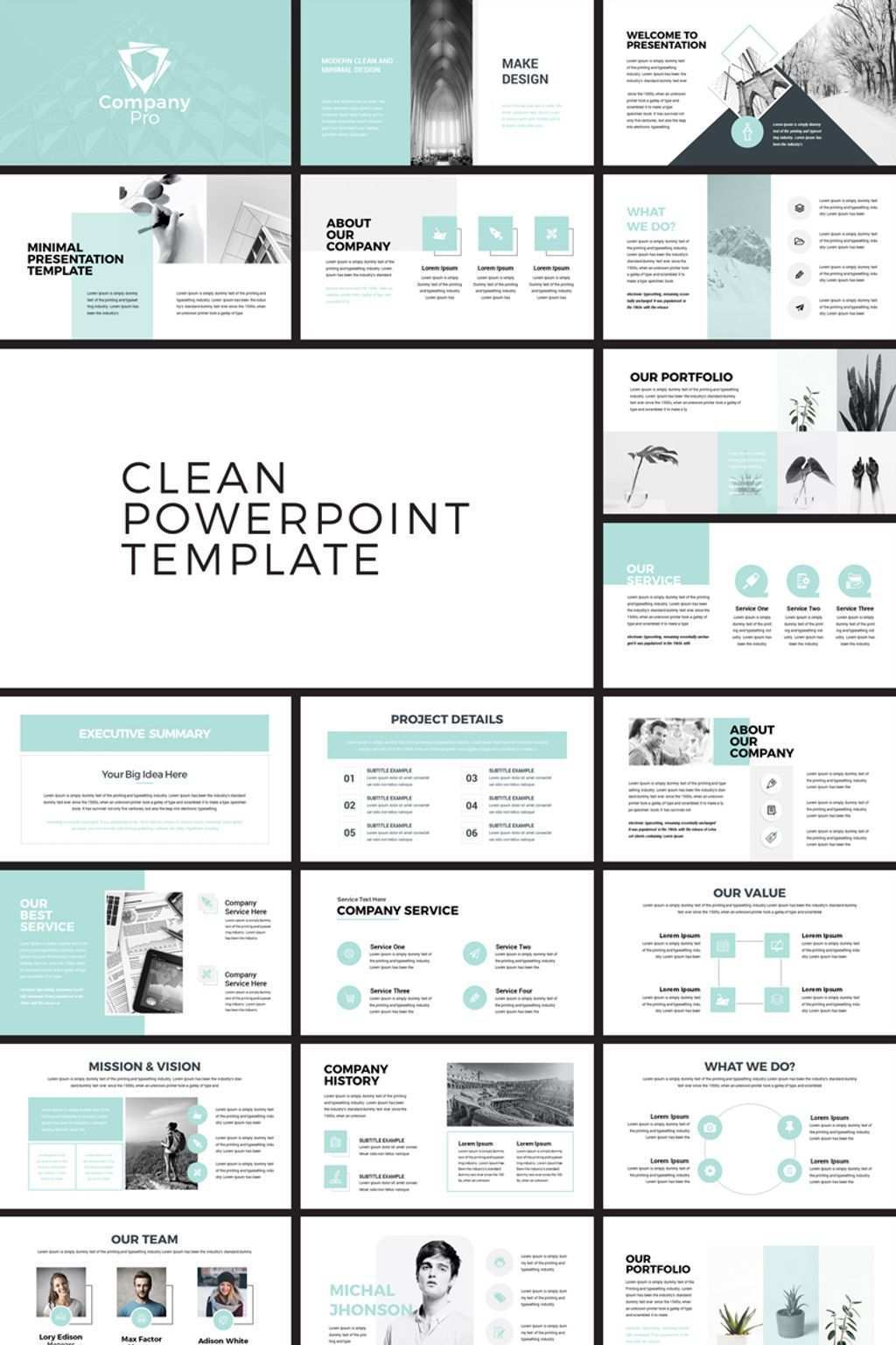 Company Pro Powerpoint Template 77905 Powerpoint Design Templates Presentation Slides Templates Business Powerpoint Presentation