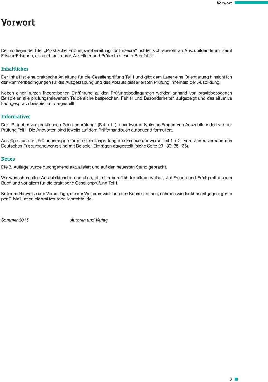 Praktische Prufungsvorbereitung Fur Friseure Teil 1 Pdf Kostenfreier Download