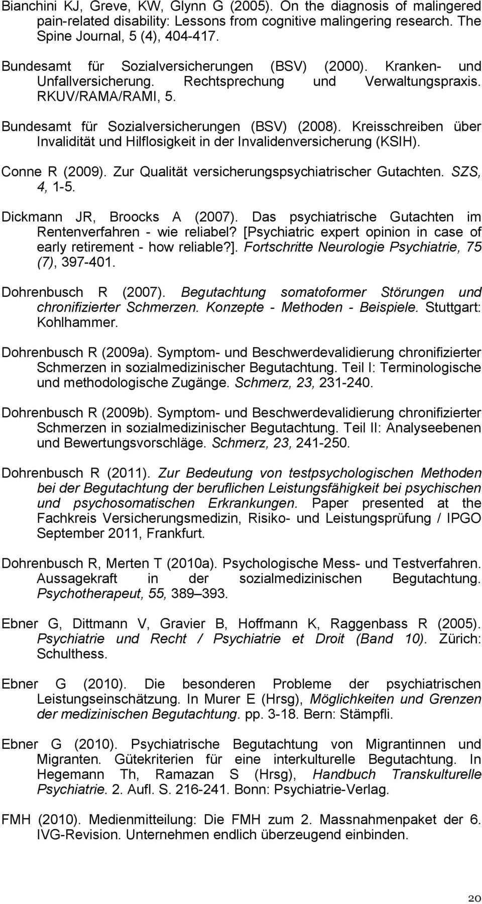 Qualitatsleitlinien Fur Psychiatrische Gutachten In Der Eidgenossischen Invalidenversicherung Pdf Kostenfreier Download