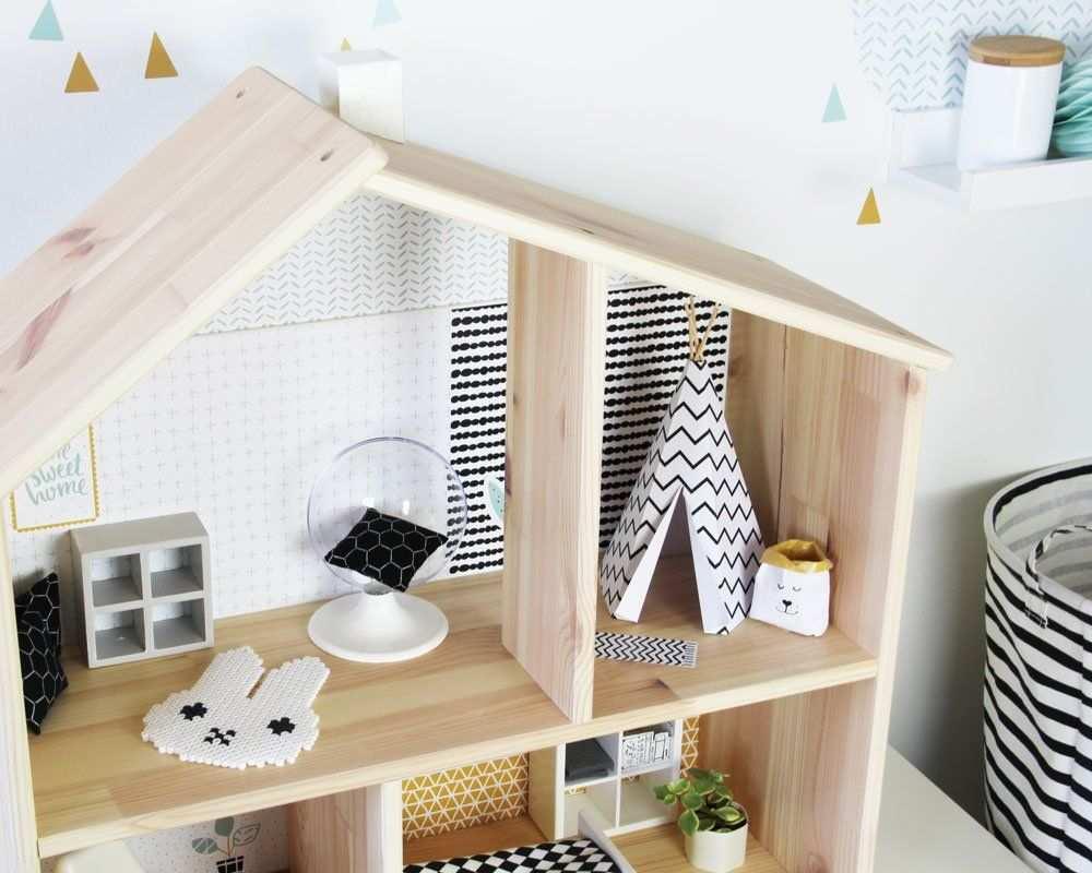 Ikea Puppenmobel Pimpen Und Bastelvorlage Tipi Fur Puppenhaus Puppenhaus Diy Puppenhaus Mobel Haus Zubehor