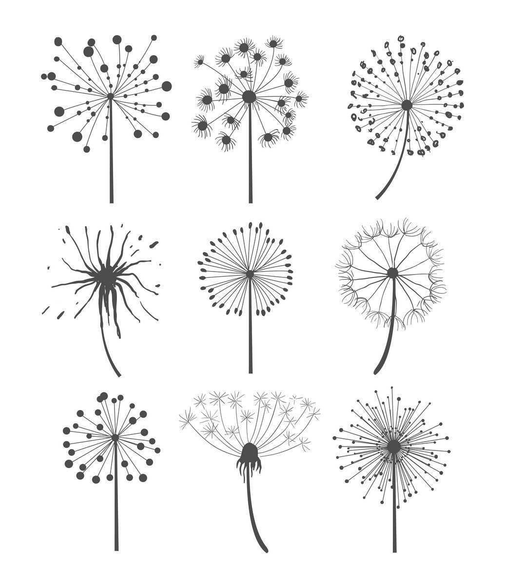 Flaschenmalung Lowenzahn Zeichnung Blumen Zeichnen Blumenzeichnung
