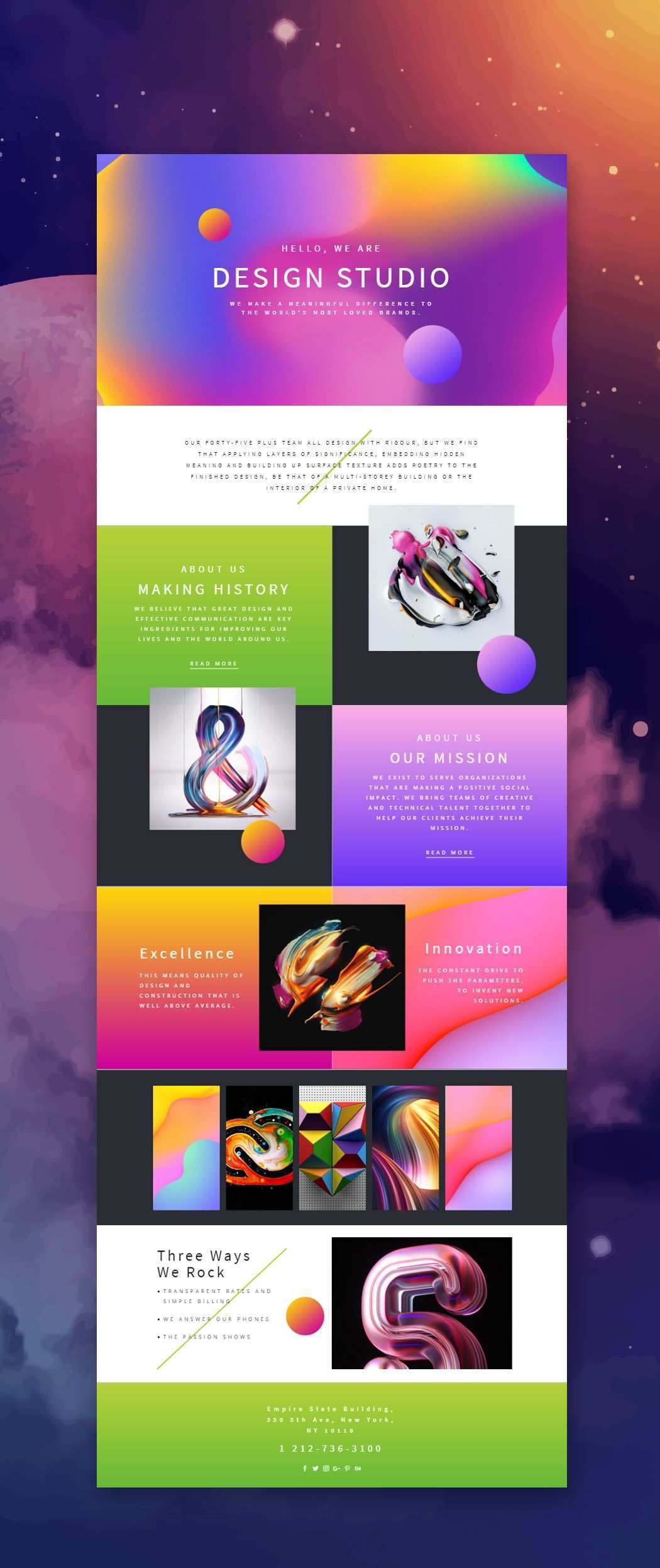Trendy Design Studio Web Template Click And Start Edit This Web Template Wordpress Theme And Joomla Templa Portfolio Web Design Web Design Web Design Quotes