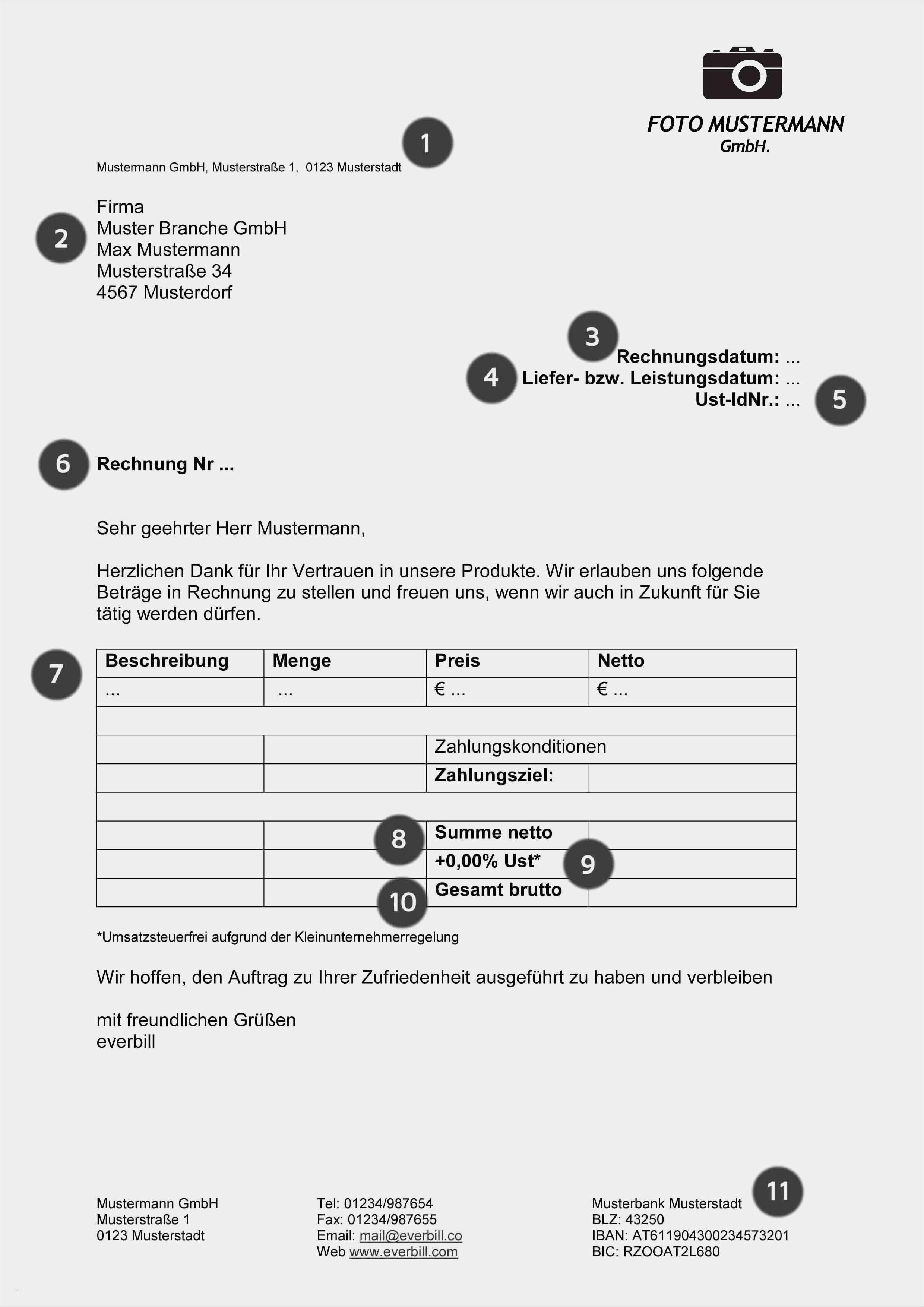 35 Genial Fotograf Rechnung Vorlage Modelle Rechnung Vorlage Vorlagen Rechnungen Schreiben