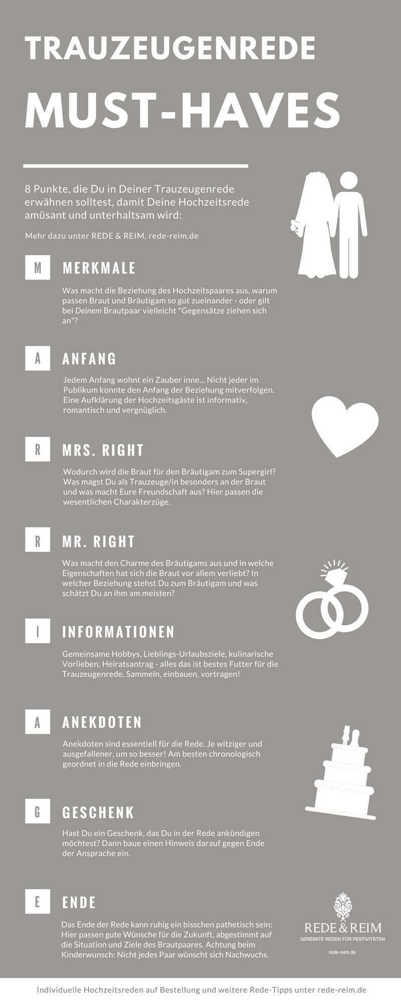 8 Punkte Die Sie In Ihrer Trauzeugenrede Erwahnen Sollten Rede Reim Trauzeugin Hochzeit Rede Hochzeit Trauzeugin Ideen
