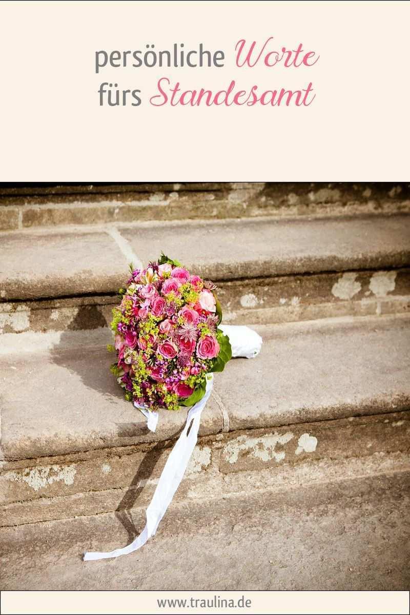Personliche Worte Furs Standesamt Personliche Worte Zur Hochzeit Standesamtliche Trauung Rede Hochzeit