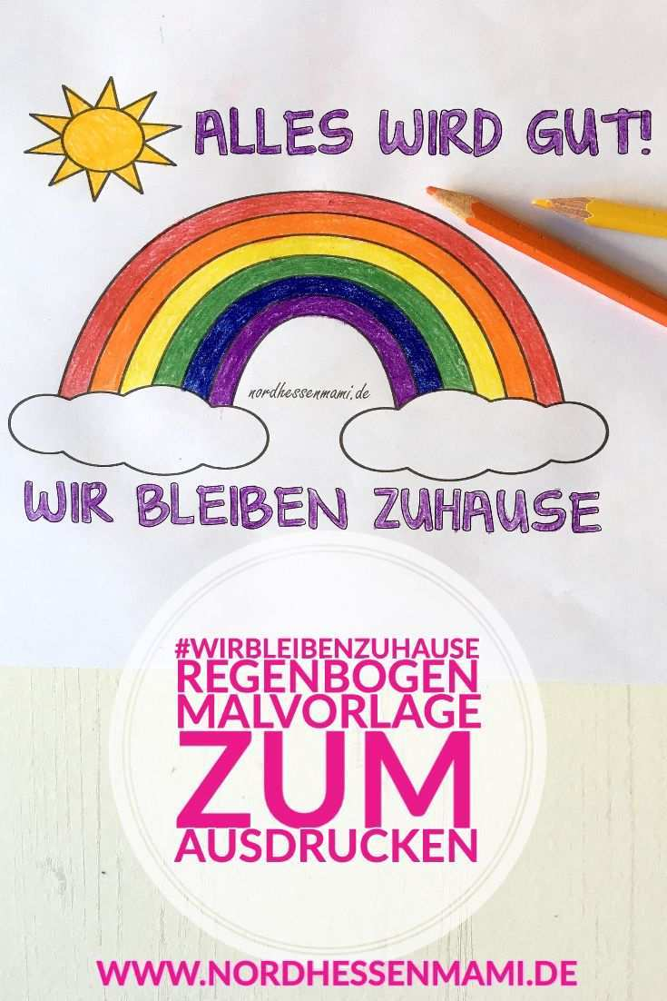 Regenbogen Aktion Kinder Malen Einen Regenbogen Nordhessenmami De Malvorlagen Malvorlagen Zum Ausdrucken Vorlagen