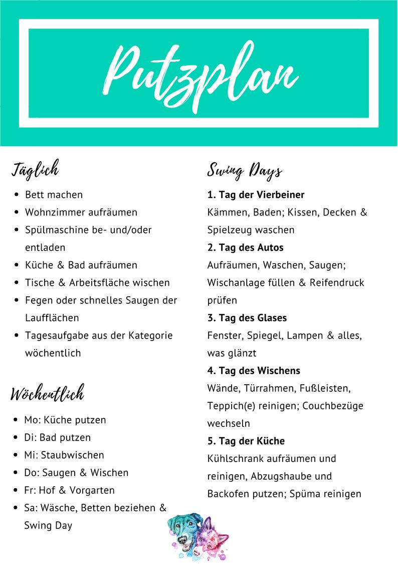 Putzplan Das Workbook The Pell Mell Pack Putzplan Reinigungsplan Tipps Fur Die Hausreinigung