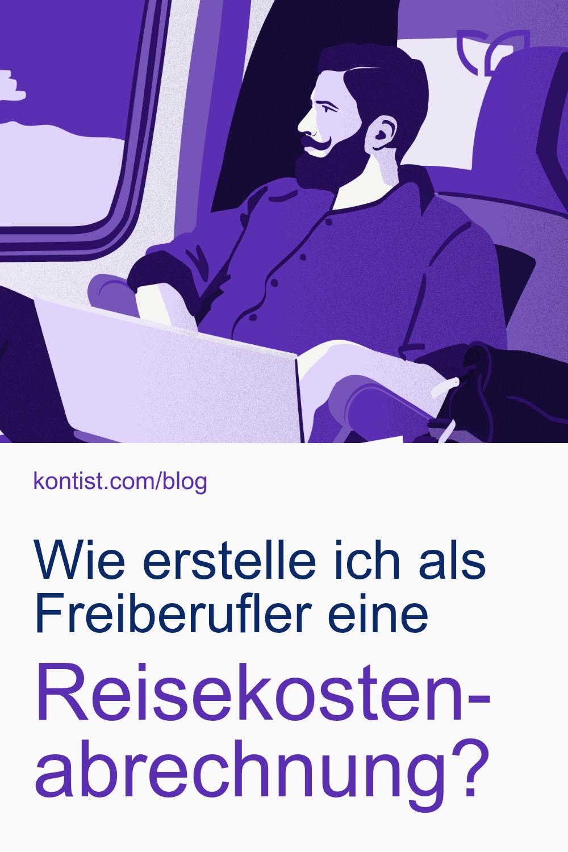 Reisekostenabrechnung Als Freiberufler Erstellen Kontist Fahrtenbuch Steuertipps Lohnbuchhaltung