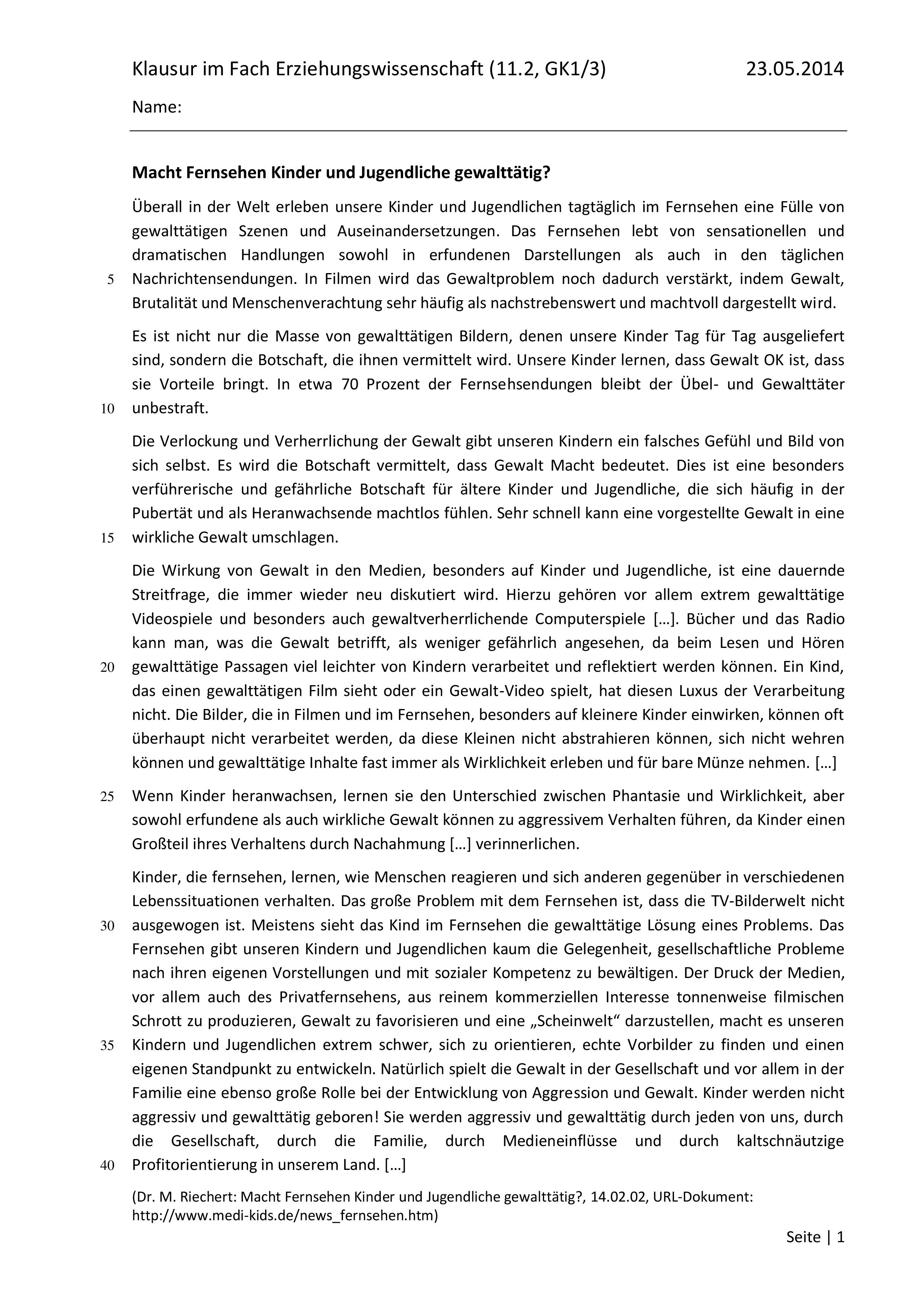 Klausur Modelllernen Unterrichtsmaterial Im Fach Padagogik Schulfach Lernen Kenntnisse Unterrichtsmaterial