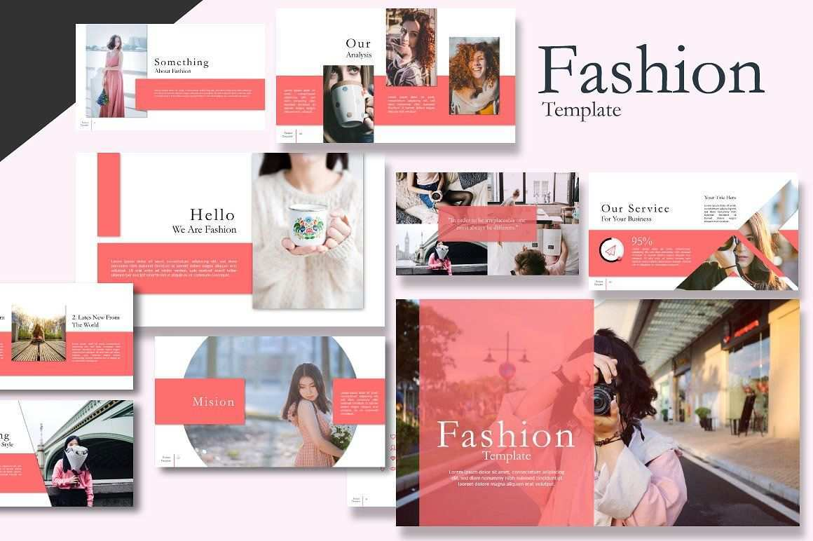 Fashion Powerpoint Keynote Template Pixelify Best Free Fonts Mockups Templates And Vectors Fashion Templates Keynote Presentation Design Template