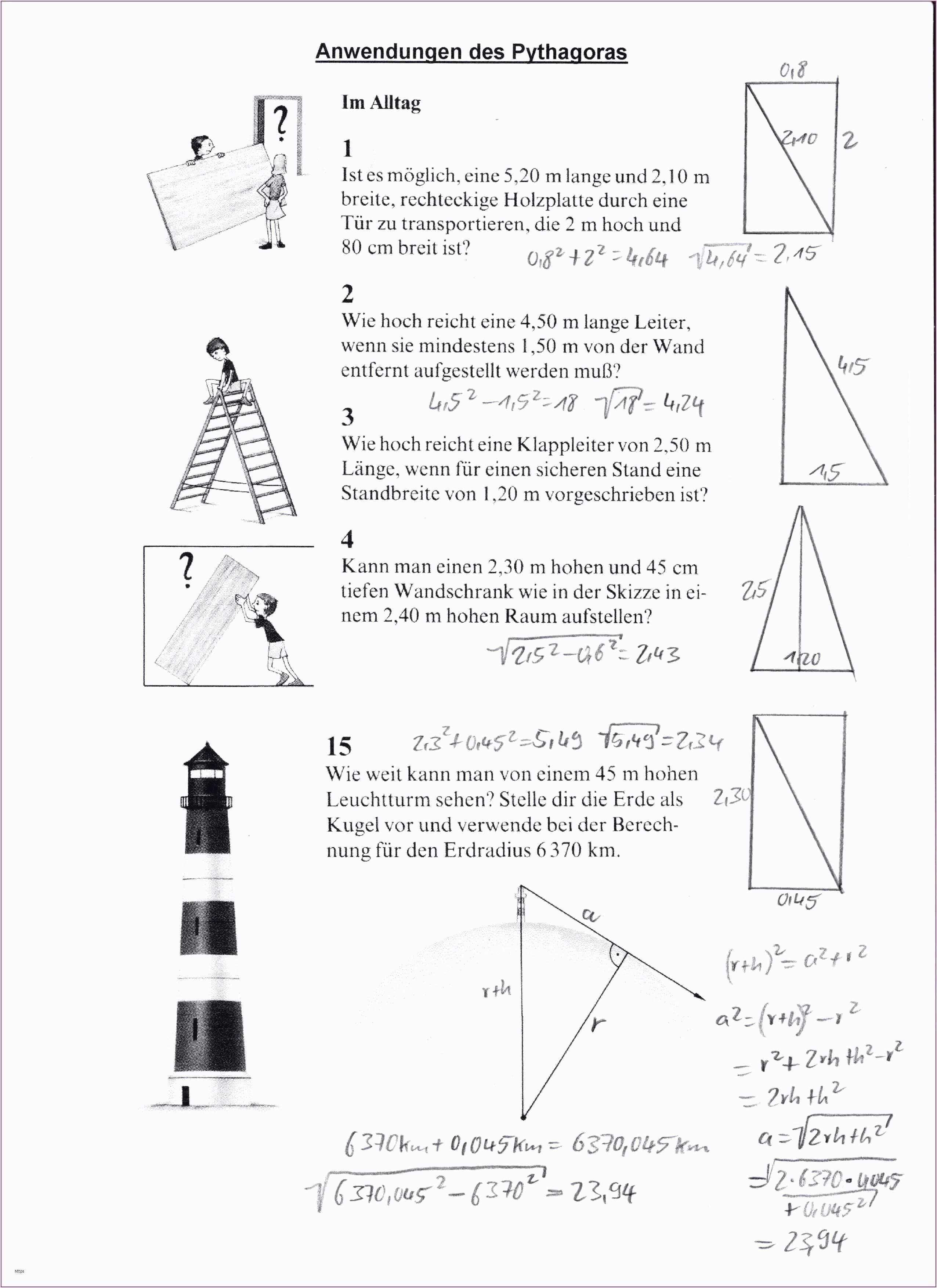 Der Kleine Herr Jakob Arbeitsblatter Luxus Neues Satz Des Pythagoras Arbeitsblatt Satz Des Pythagoras Der Kleine Herr Jakob Arbeitsblatter