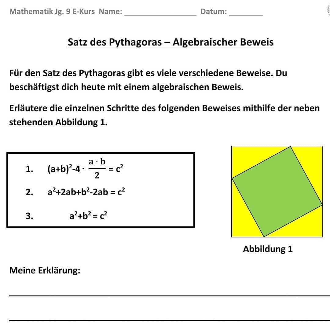 Traumjob Lehrerin On Instagram Mathematik Jg 9 Satz Des Pythagoras In Meiner Mathestunde In Der Upp Sollen Sich Meine Sus Mit Verschiedene Chart Pie Chart