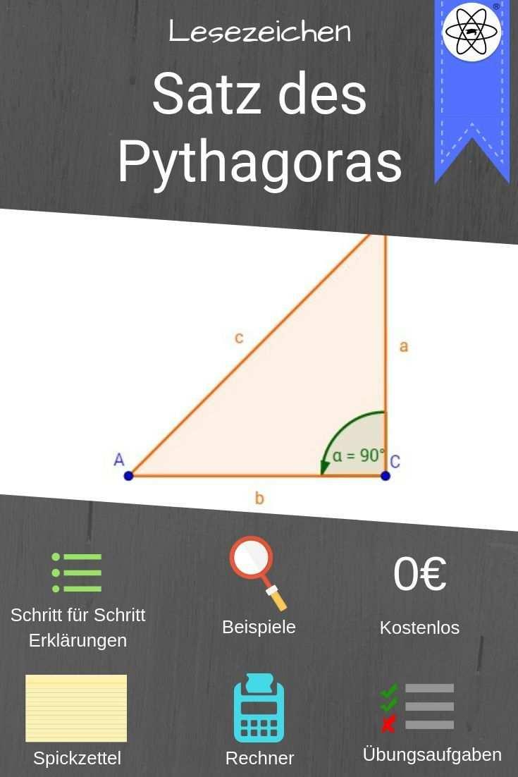 Satz Des Pythagoras In 2020 Learning Math Math Tricks About Me Blog
