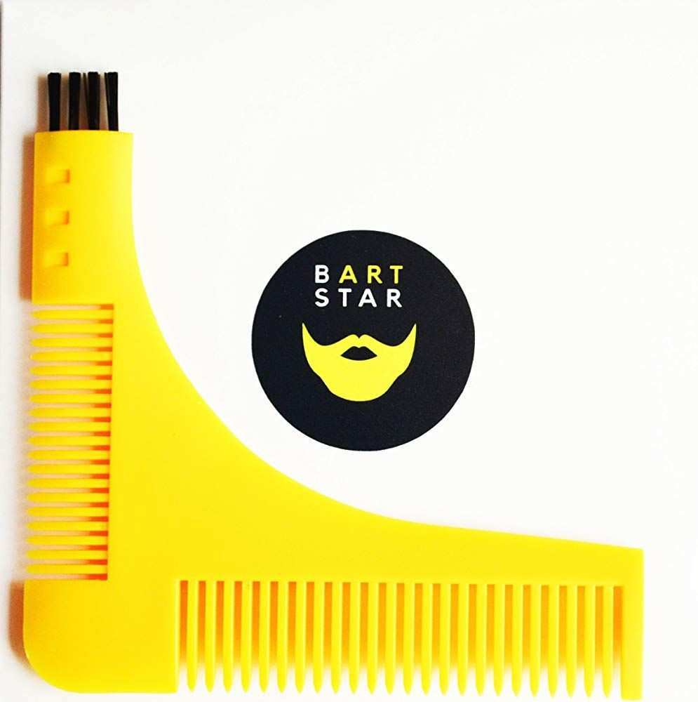 Bartschablone Bartkamm Rasierschablone Bartvorlage Bartpflege Bartstyling Grooming Tool Bart Bartkit Geschenk 4 98 5 0 Von 5 St Bartpflege Tipps Schablonen